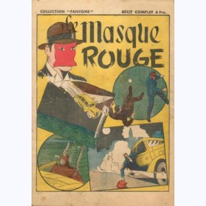 Collection Fantôme : n° 10, Le masque rouge