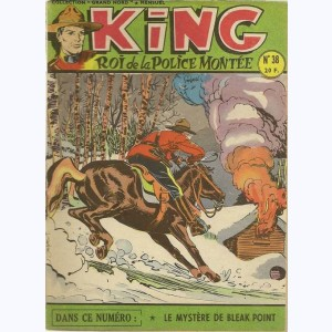 King Roi de la Police Montée : n° 38, Le mystère de Bleak Point