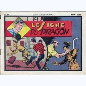 Collection Jim Taureau : n° 93, Le signe du dragon