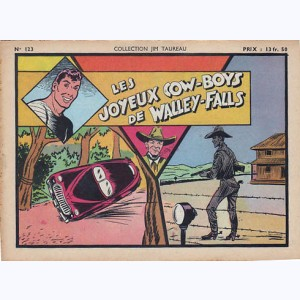 Collection Jim Taureau : n° 123, Les joyeux cow-boys de Walley-Falls