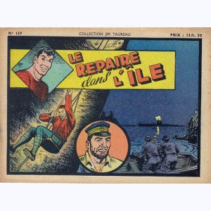 Collection Jim Taureau : n° 129, Le repaire dans l'île