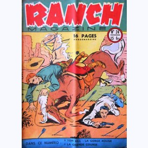 Ranch Magazine : n° 24, La gorge rouge
