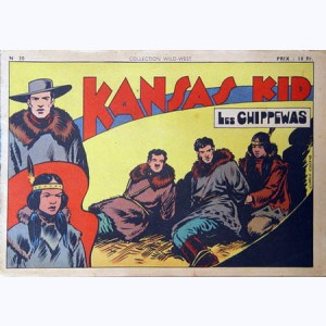 Collection Wild West : n° 30, Kansas Kid : Les Chippewas
