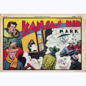 Collection Wild West : n° 34, Kansas Kid : Mark