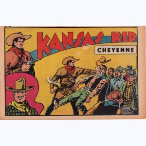 Collection Wild West : n° 44, Kansas Kid : Cheyenne