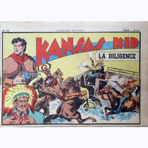Collection Wild West : n° 46, Kansas Kid : La diligence