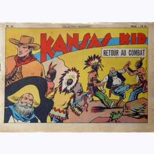 Collection Wild West : n° 50, Kansas Kid : retour au combat