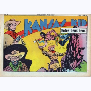 Collection Wild West : n° 51, Kansas Kid : Entre deux feux