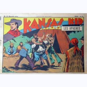 Collection Wild West (2 ème Série) : n° 32, Kansas Kid : Les Apaches