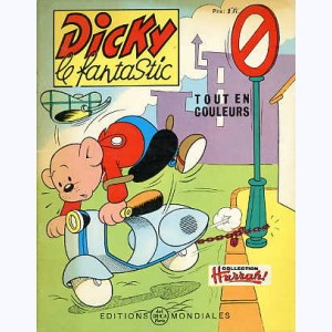 Dicky le Fantastic tout en couleurs : n° 18, Dicky astronome