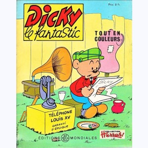 Dicky le Fantastic tout en couleurs : n° 29, Dicky marin