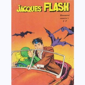 Jacques Flash : n° 5, Aux mains des vampires