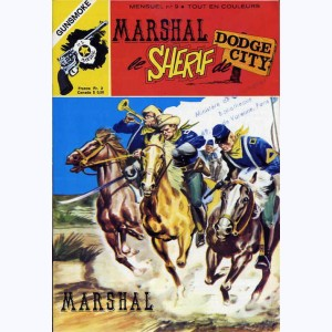 Marshal le Shérif de Dodge City : n° 9