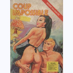Série Angoisse : n° 1, Coup impossible