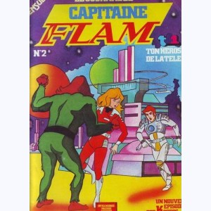 Capitaine Flam Journal : n° 2, L'empire des astéroïdes