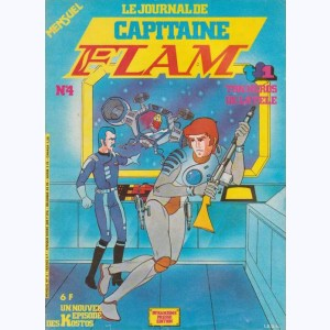 Capitaine Flam Journal : n° 4, Alerte spatiale