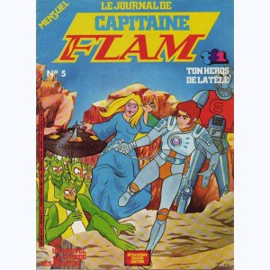 Capitaine Flam Journal : n° 5, La femme au masque