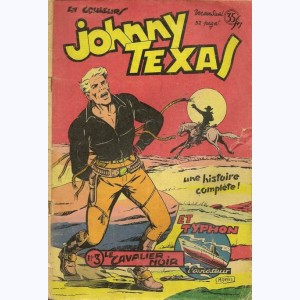 Johnny Texas : n° 3, Le cavalier noir