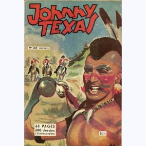 Johnny Texas : n° 39, Billy Comanche ... est capturé ...