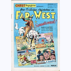 Far West : n° 1, Billy le Kid