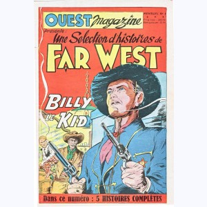 Far West : n° 4, Billy le Kid : 5 histoires complètes