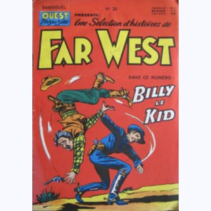 Far West : n° 21, Billy le Kid : Les voleurs du Cercle B