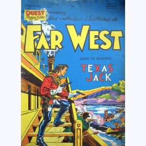 Far West : n° 22, Texas Jack : Le fils de Faucon Gris