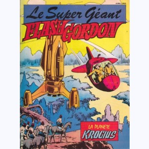 Flash Gordon Géant : n° 10, La planète Krogius