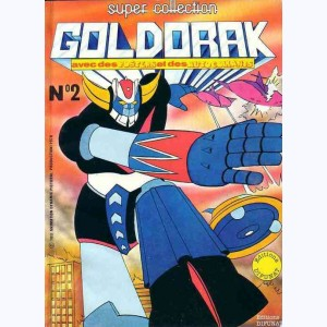 Le Journal de Goldorak (Album) : n° 2, Recueil Super collection n° 2 (08, 09, 10)