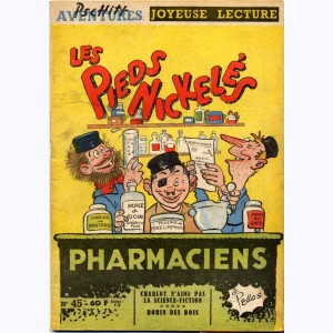 Joyeuse Lecture : n° 45, Les Pieds Nickelés pharmaciens