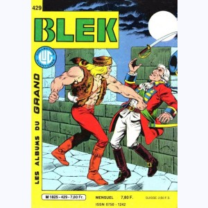 Blek : n° 429, Le prisonnier de High Rock