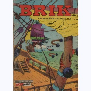 Brik : n° 44, La mitraille d'or