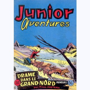 Junior Aventures : n° 36, Drame dans le grand Nord