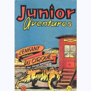 Junior Aventures : n° 38, L'enfant du cirque