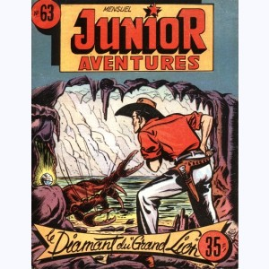 "Junior Aventures : n° 63, Les diamants du ""Grand Lion"""