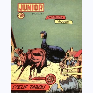 Junior Aventures : n° 78, L'oeuf tabou