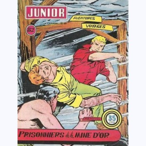 Junior Aventures : n° 82, Prisonniers de la mine d'or