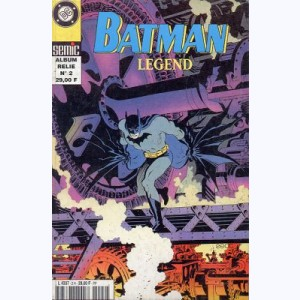 Batman Legend (Album) : n° 2, Recueil Legend 2 (4, 5)