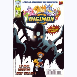 Digimon : n° 8, Le mal montre son visage !