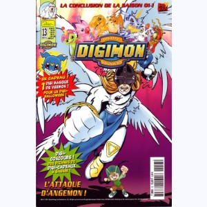 Digimon : n° 13, L'attaque d'Angemon !