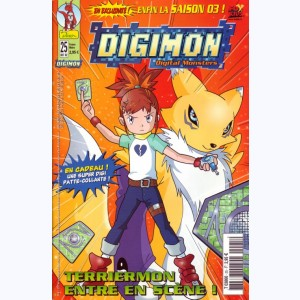 Digimon : n° 25, Terriermon entre en scène