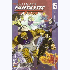 Ultimate Fantastic Four : n° 15, Ultimate X 4