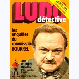 Ludo Détective : n° 14, Bourrel et la collection disparue