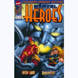 Marvel Heroes : n° 2, Bataille Iron Man /Ultimo
