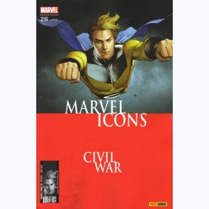 Marvel Icons : n° 26, Civil War p.93