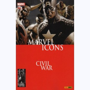 Marvel Icons : n° 28, Civil War Front Line (3,4)