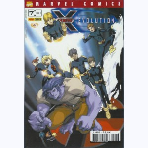 Marvel Manga : n° 7, X-Men Evolution 4 épisodes