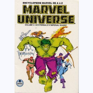 Marvel Universe : n° 3, De Eternals à Imperial Guard