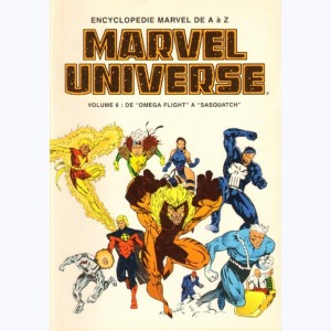 Marvel Universe : n° 6, De Omega Flight à Sasquatch