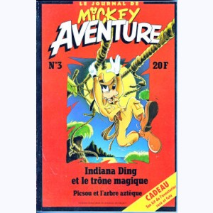 Mickey Aventure : n° 3, Indiana Ding et le trône magique